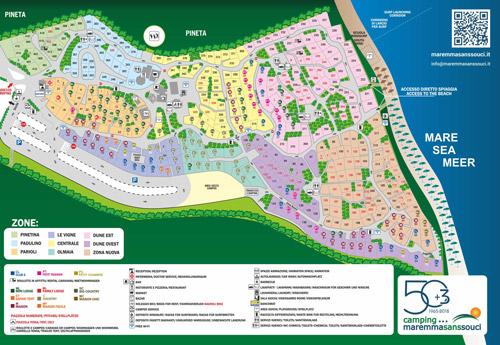 Mappa Maremma Sans Souci