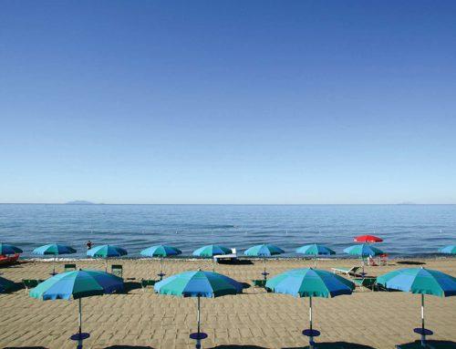 Camping au bord de la mer en Toscane