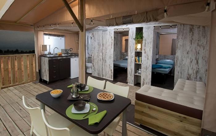 Safari Lodge - tenda glamping, Maremma Sans Souci