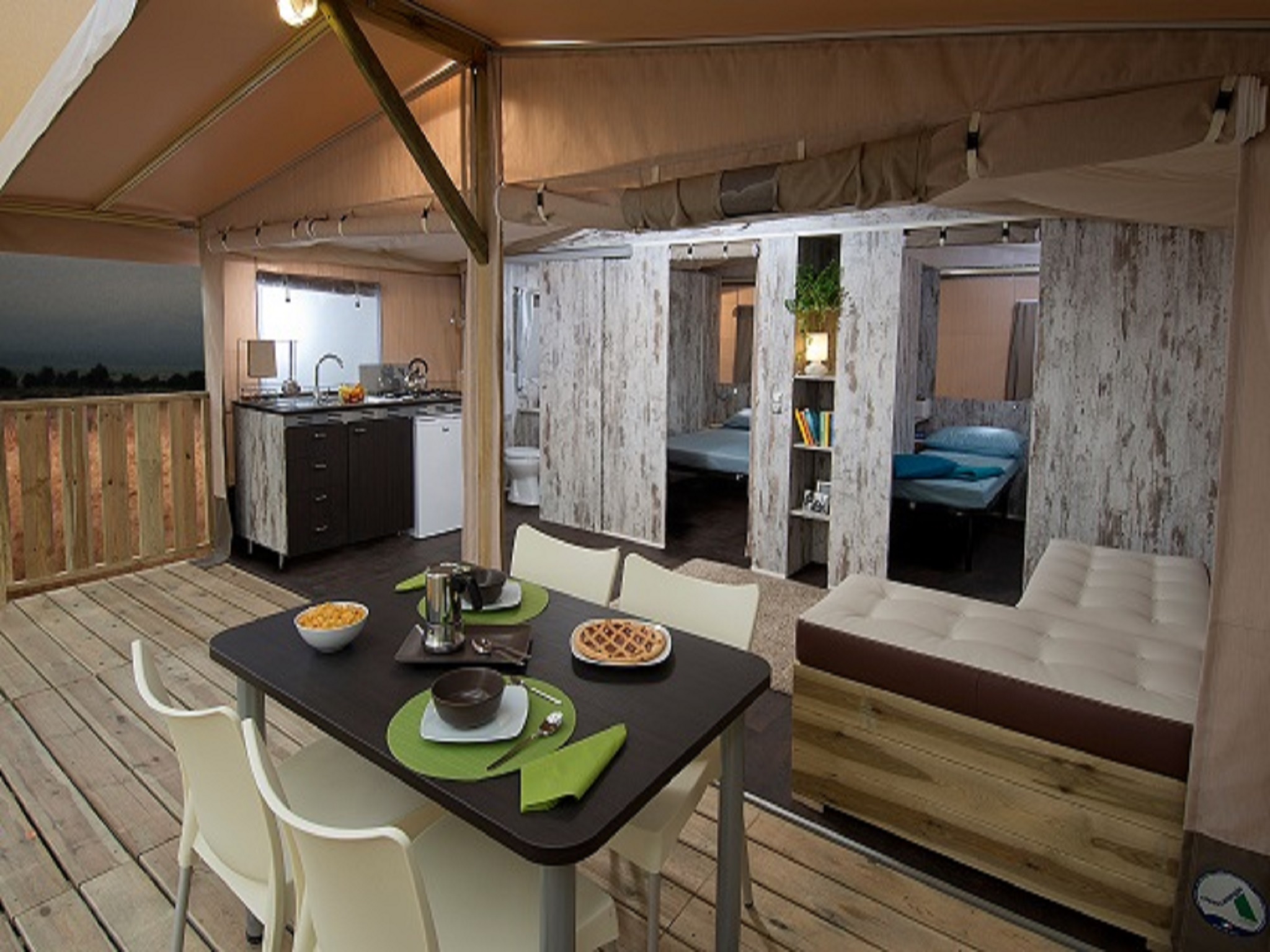 Safari Lodge Tent - Maremma Sans Souci