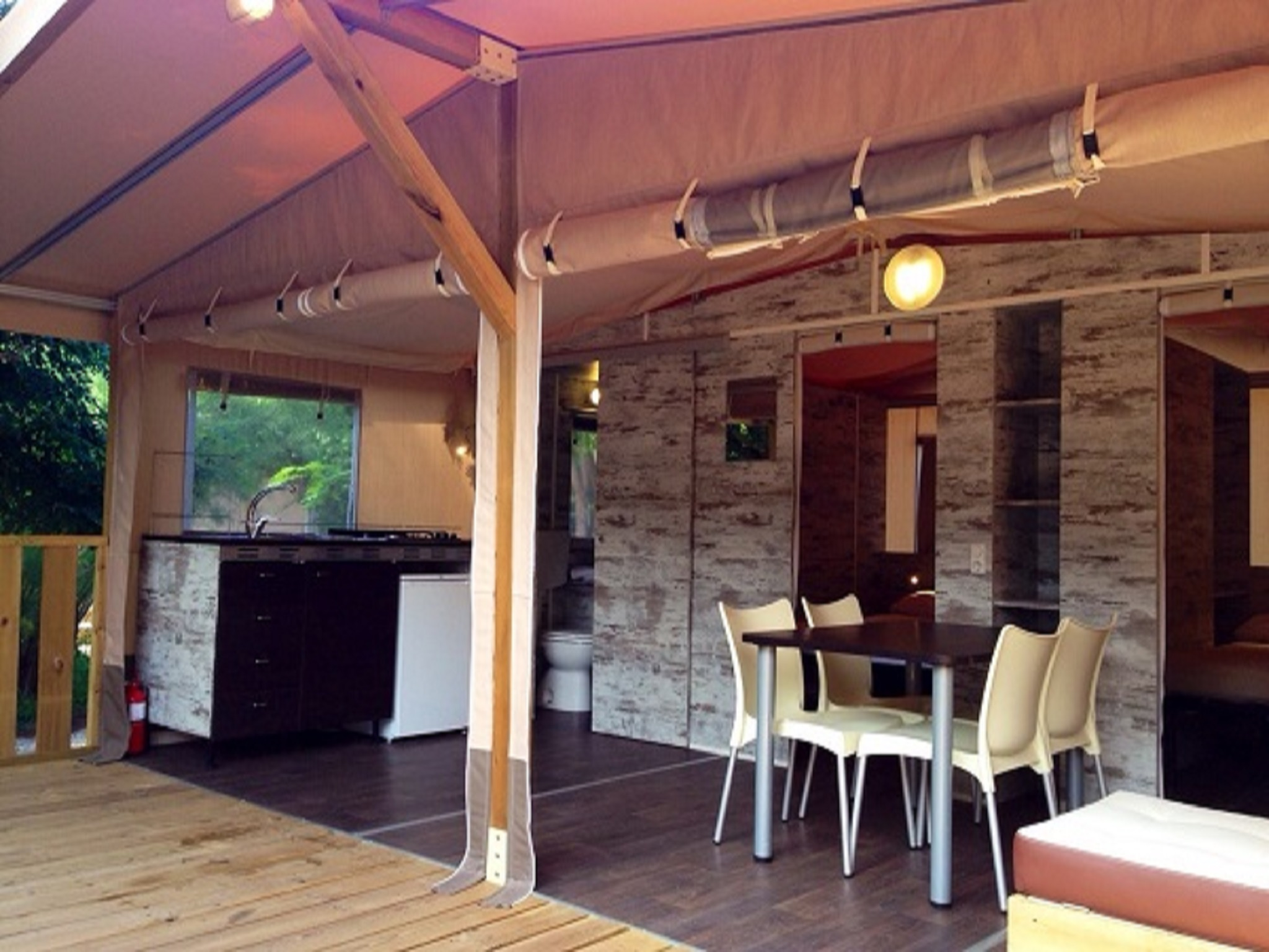 Safari Lodge Tent - Maremma Sans Souci