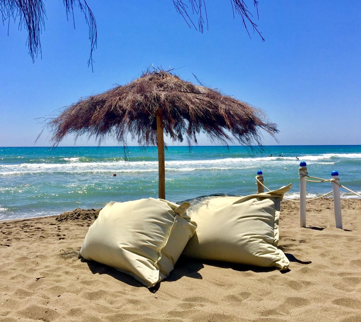 Spiaggia attrezzata beach relax - Camping Village Maremma Sanssouci