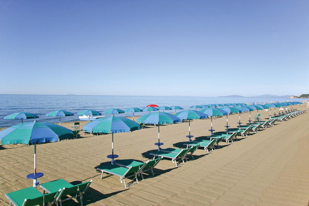 Spiaggia Castiglione della Pescaia, Maremma SanSouci