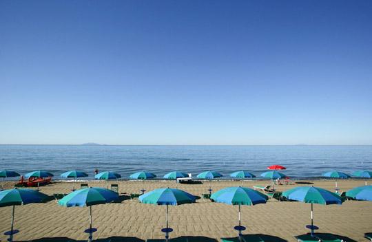Camping am Meer im Juli und August