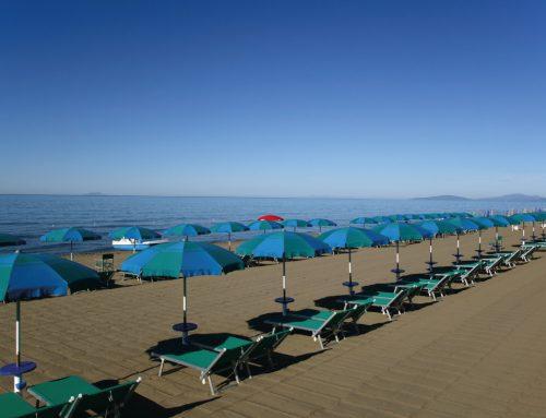 Campeggio sul mare della Maremma
