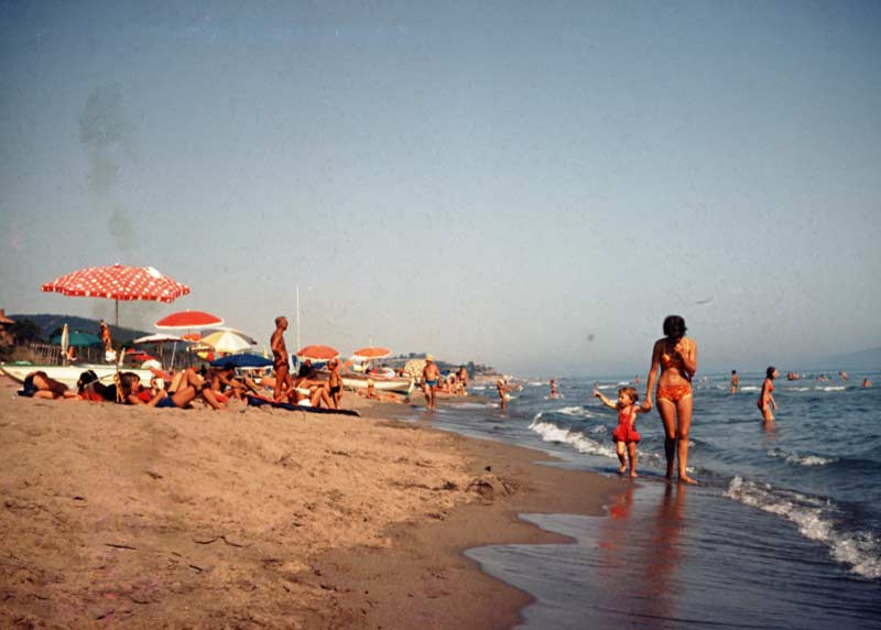 Vintage promenade on the beach - Maremma Sans Souci