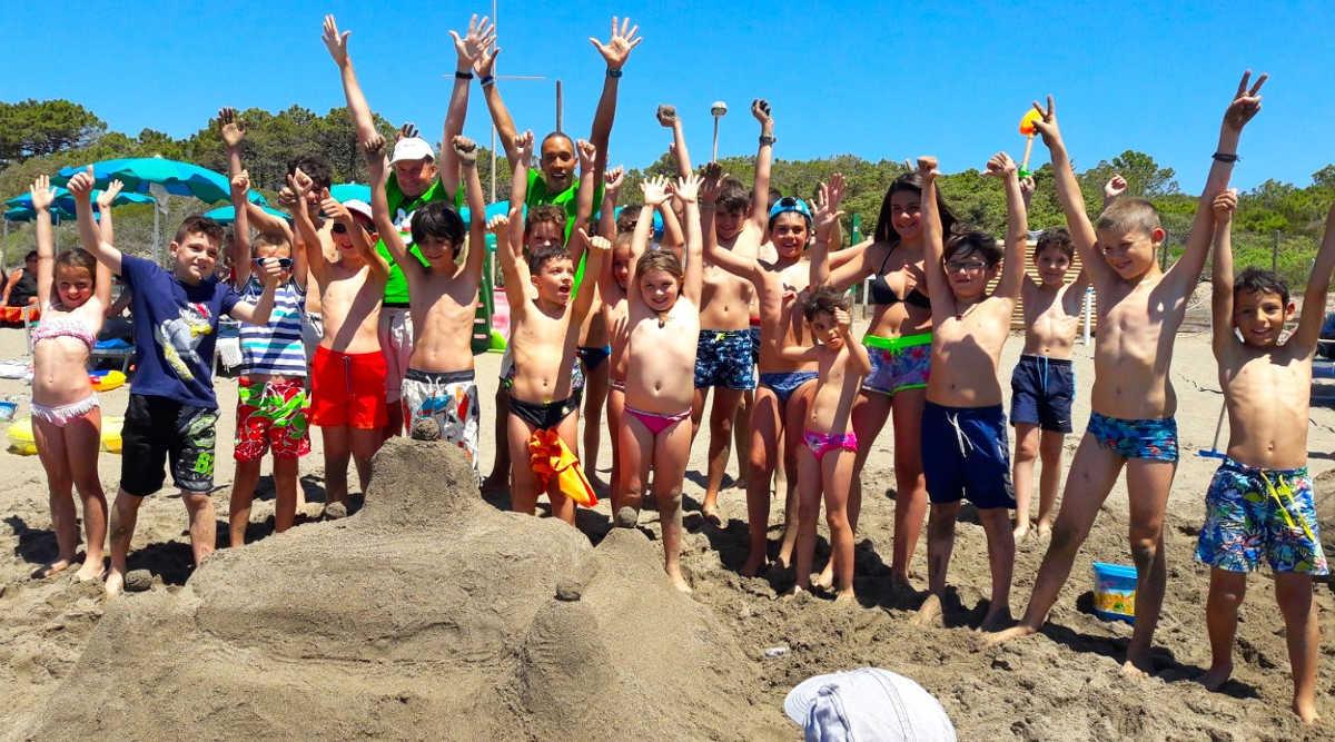 Attività in Spiaggia - Camping Village Maremma Sanssouci