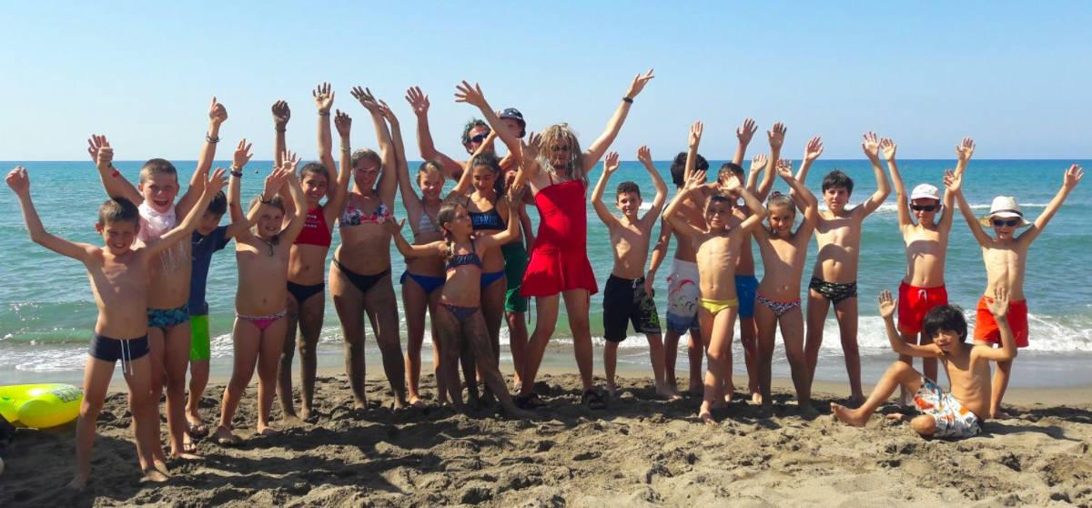 Divertimento in spiaggia - Maremma Sans Souci