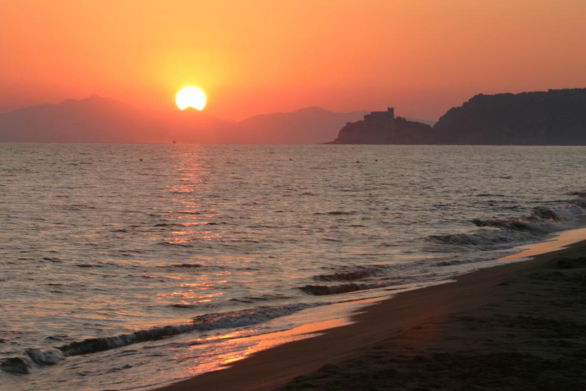 zonsondergang-Maremma